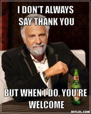 Funny Thank You Meme - thank you meme kappit