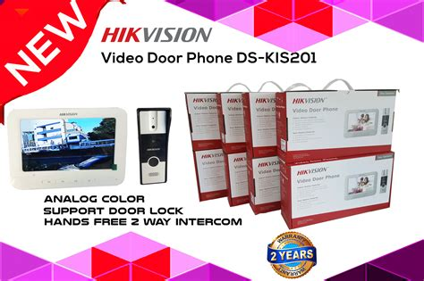hikvision ds kis video door phone  sri lanka
