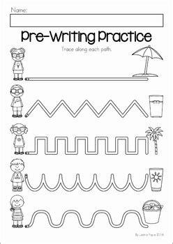summer review preschool no prep worksheets amp activities by 608 | original 2558866 4
