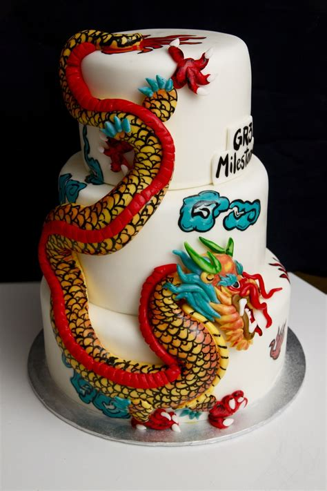 chinese dragon cake cakecentralcom