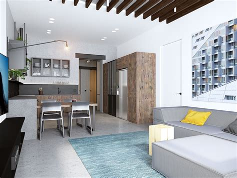 Handsome Small Apartments With Open Concept Layouts by Handsome Small Apartments With Open Concept Layouts