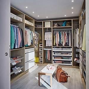 Idee Amenagement Dressing : dressing et rangement castorama ~ Melissatoandfro.com Idées de Décoration