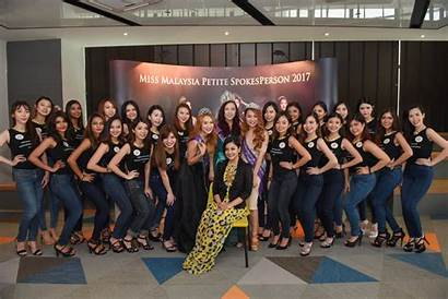 Spokesperson Petite Malaysia Miss Conference Press Finalist