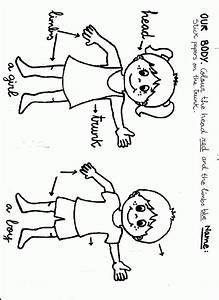 Body Parts Coloring Pages - Coloring Home