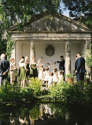Elegant English Manor Outdoor Wedding Once Wed