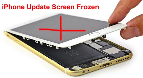 iphone 5 touch screen not working after screen replacement iphone update screen frozen can t slide and unlock