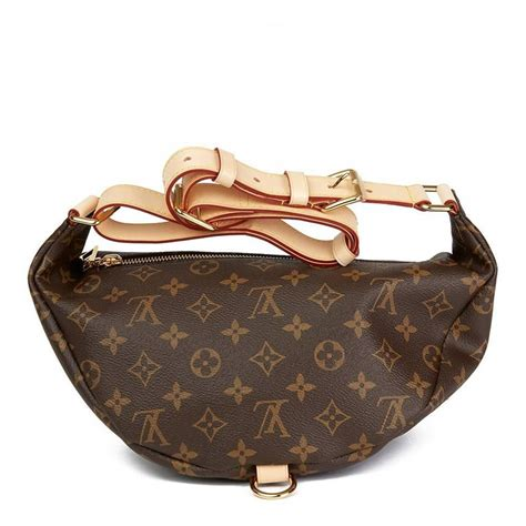 louis vuitton brown monogram coated canvas bumbag  stdibs