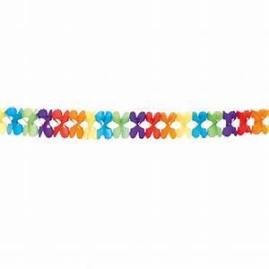 Guirlande En Papier Crépon : guirlande en papier cr pon paradis multicolore 6 m prix minis sur ~ Melissatoandfro.com Idées de Décoration