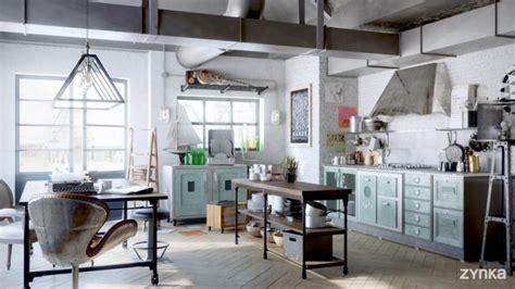 loft cuisine 35 lofts industriels créés avec un logiciel de rendu 3d