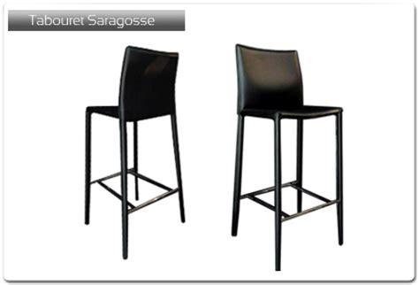 chaise de plan de travail tabouret de bar modèle saragosse plan de travail 33 fr