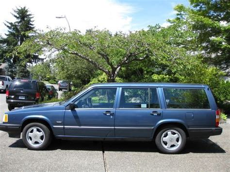 how does cars work 1993 volvo 940 seat position control buy used 1993 volvo 940 t wagon 4 door 2 3l in issaquah washington united states for us 6 900 00