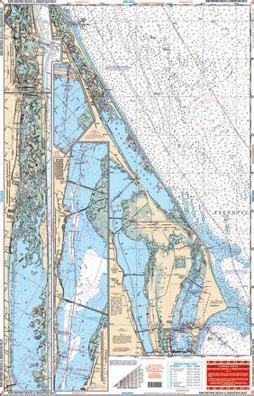 smyrna beach fishing maps  charts  pinterest