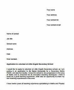 how to write a cover letter for volunteering - format of a formal letter application for job