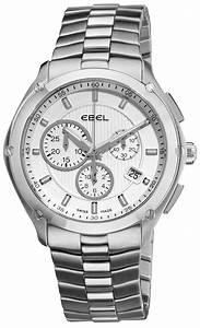 Ebel Classic Sport Chronograph Men U0026 39 S Watch Model  9503q51