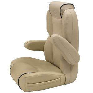 premier pontoon boats cafe au lait blue marine captain seat helm chair 780365 ebay