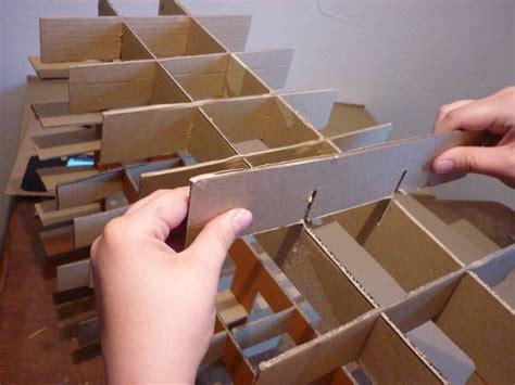 Möbel Aus Pappe Selber Machen by Steckverbindung M 246 Bel Aus Pappe Selber Bauen Lovely