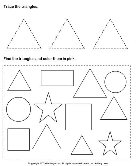 images  color shapes worksheets printable