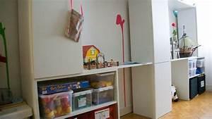 Ikea Chambre D Enfant : espace de jeu pour chambre d 39 enfant diy ~ Teatrodelosmanantiales.com Idées de Décoration