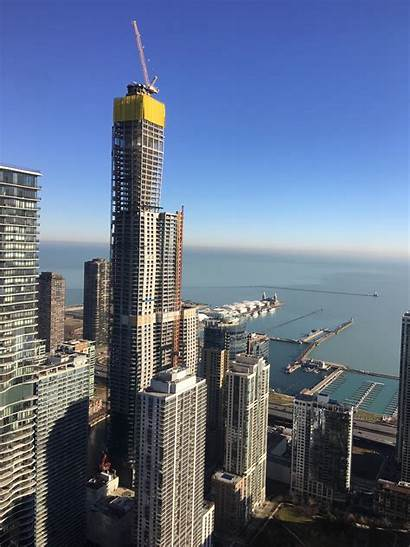 Chicago Vista Tower Aon East Looking