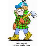 Lumberjack Clipart Christart