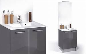 Meuble Salle De Bain Bas : meuble bas salle de bain 60 cm ~ Teatrodelosmanantiales.com Idées de Décoration