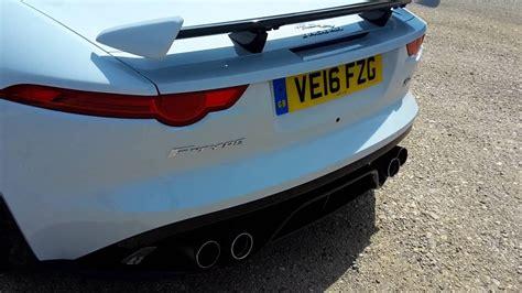 Jaguar F Type Exhaust Sound by Jaguar F Type Svr Exhaust Sound