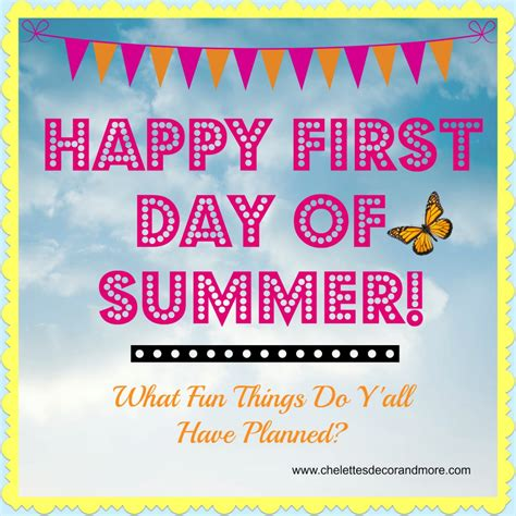 Happy First Day Of Summer