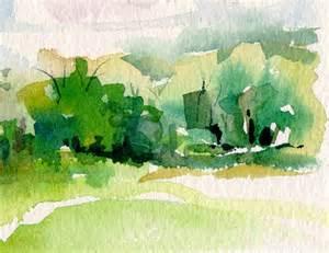Watercolor Landscape Sketches
