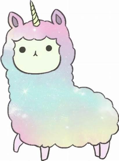 Alpaca Unicorn Rainbow Stickers Sticker Animal Picsart