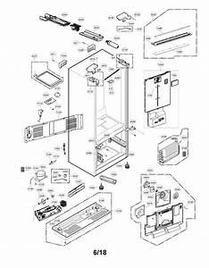 Lg Lfxs28566m Refrigerator Water Tank Assembly