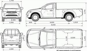 Toyota Pick Up Dimensions  1