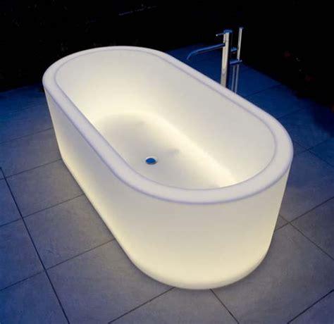 vasche da bagno esterne vasche da bagno luminose