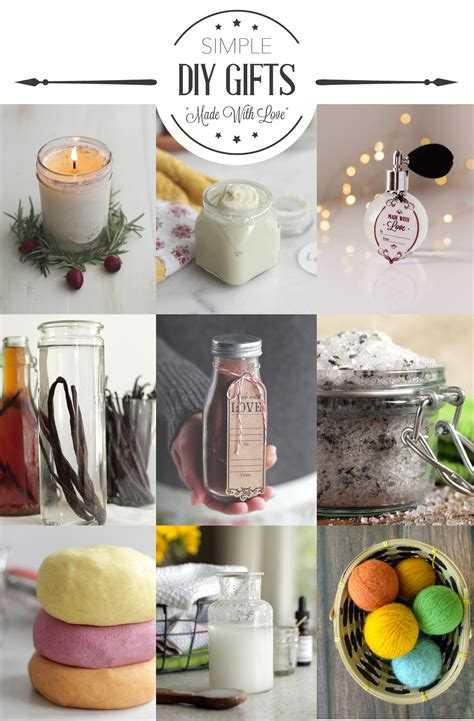 11 simple diy gift ideas live simply