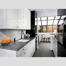 Modern Galley Kitchen Design  Contemporary Kitchen