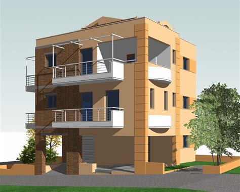 three building three storey residential building made by g n architects