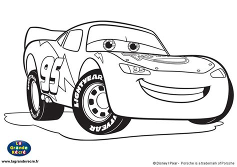 Free Coloring Pages Of Flash Mcqueen