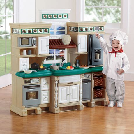 step 2 lifestyle kitchen step2 lifestyle deluxe play kitchen walmart canada