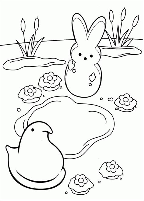 how to color marshmallows marshmallow peeps coloring pages coloringpagesabc