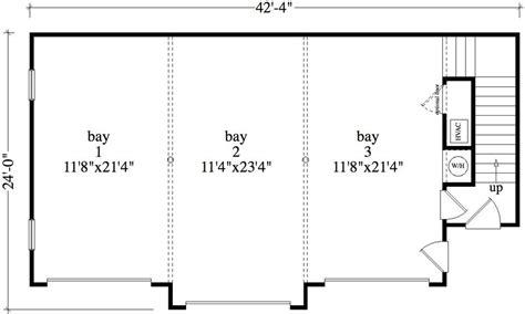garage building plans 1 bedroom 1 bath colonial house plan alp 09b5