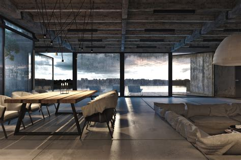 industrial home interior design industrial style home design