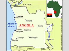 ABC Maps of Angola; Flag, Map, Economy, Geography, Climate