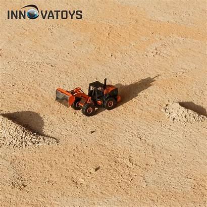 Heavy Move Wheel Dirt Equipment Earth Metal