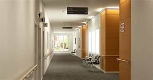 Lighting in hospital corridors - Fagerhult (International)
