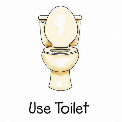 Potty Clip Clipart Chart Toilet Bathroom Cliparts