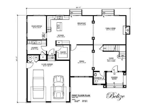 small  bedroom house plans construction home house