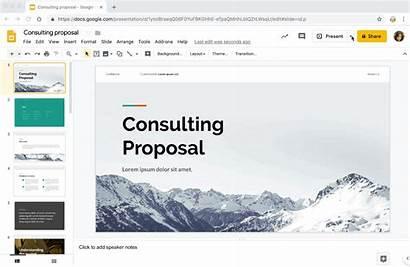 Present Slides Mode Features Google Slide Shortcuts