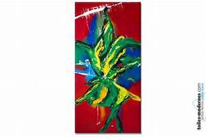 Tableau Moderne Coloré : tableau g ant color brasilia est une immense toile moderne format portrait 3d effet spectaculaire ~ Teatrodelosmanantiales.com Idées de Décoration