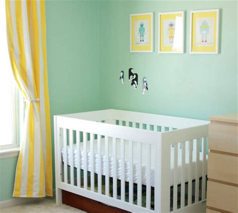 Yellow And White Curtains For Nursery by Nursery Color Tours 21 Yellow Baby Rooms Disney Baby