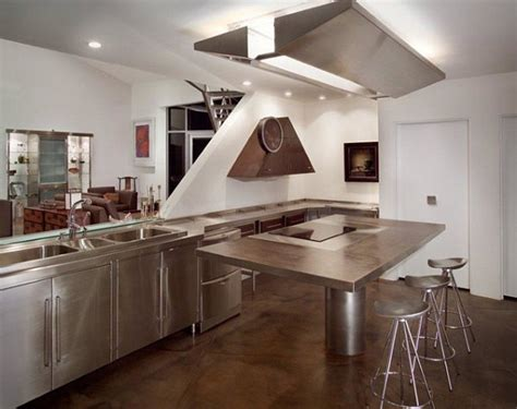stainless steel kitchen islands ideas  inspirations