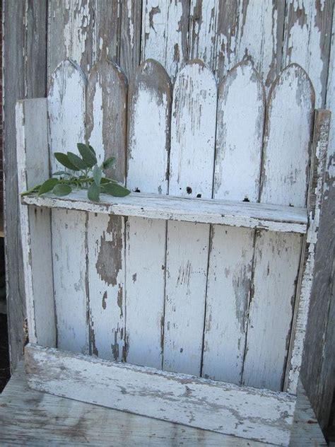 picket fence repurpose diy images  pinterest